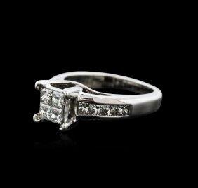 18kt White Gold 1.00ctw Diamond Ring