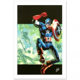 Captain America: Man Out Of Time #4 By Stan Lee -