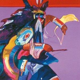 Original Traditional Dancer Ii By John Nieto