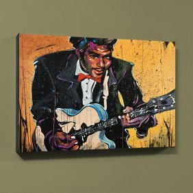 Chuck Berry (chuck) By David Garibaldi
