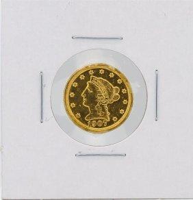 1907 $2.50 Liberty Head Quarter Eagle Gold Coin