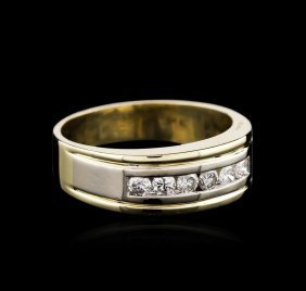 14kt Yellow Gold 0.50ctw Diamond Ring