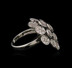 1.71ctw Diamond Ring - 18kt White Gold