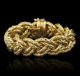 J.r. Gold Designs 18kt Yellow Gold Bracelet
