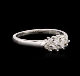 14kt White Gold 0.30ctw Diamond Ring