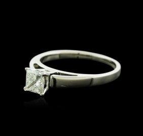 14kt White Gold 0.70ct Diamond Ring
