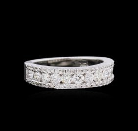 0.80ct Diamond Ring - 14kt White Gold