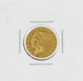 1927 $2.50 Cu Indian Head Quarter Eagle Gold Coin