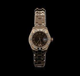 Rolex 18kt Everose Gold Pearlmaster Ladies Watch