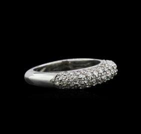 0.80ctw Diamond Ring - 14kt White Gold