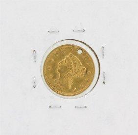 1856 $2.50 Liberty Head Quarter Eagle Gold Coin