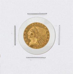 1929 $2.50 Indian Head Quarter Eagle Gold Coin
