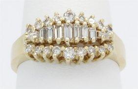 0.50ctw Diamond Ring - 14kt Yellow Gold
