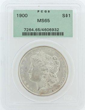 1900 Pcgs Ms65 Morgan Silver Dollar
