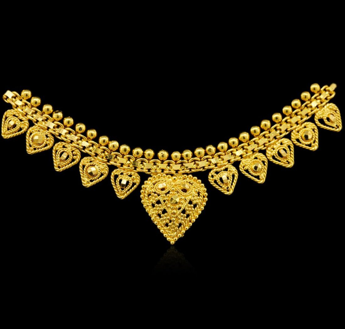 22KT Yellow Gold Necklace