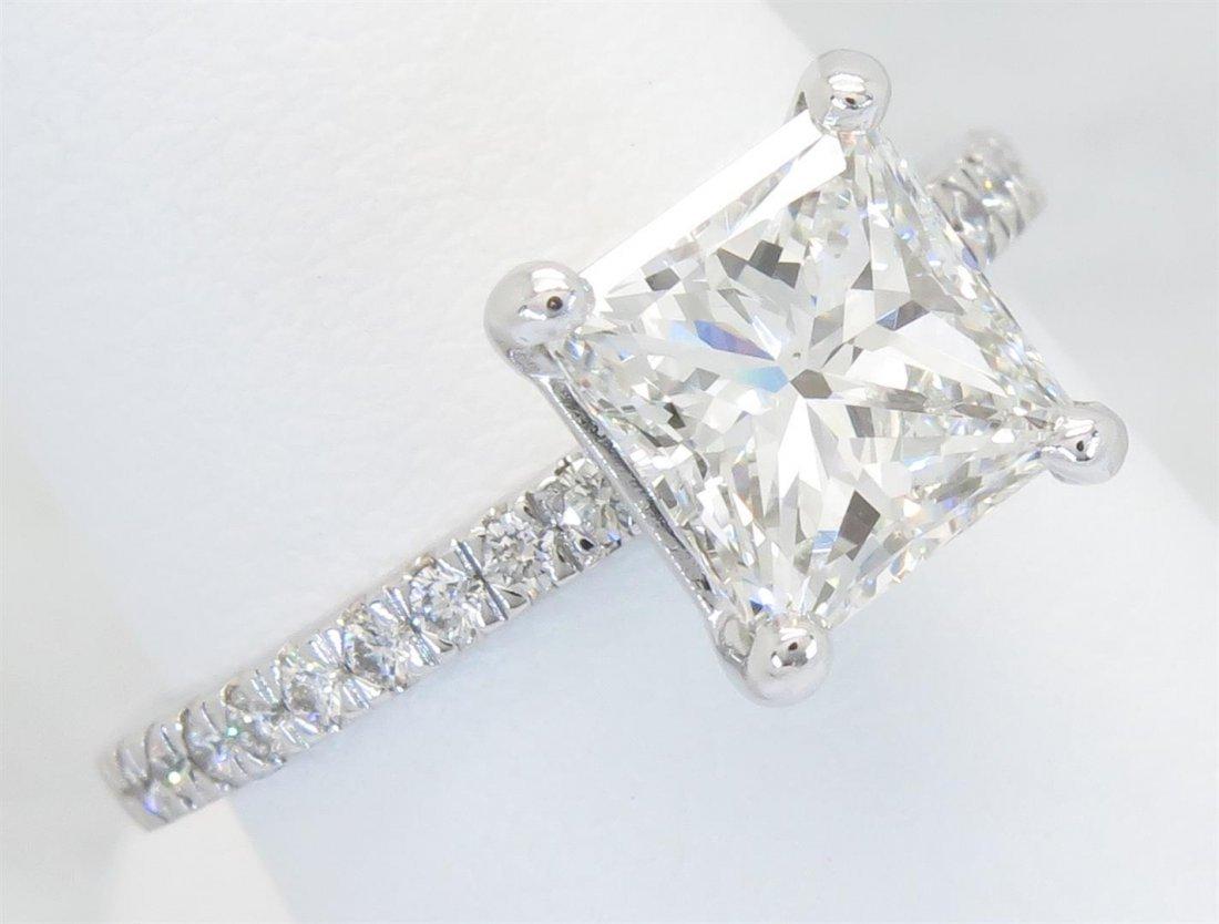 GIA Cert 2.32ctw Diamond Ring - Platinum
