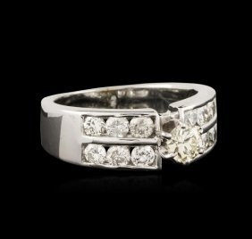 14kt White Gold 0.75ctw Diamond Ring