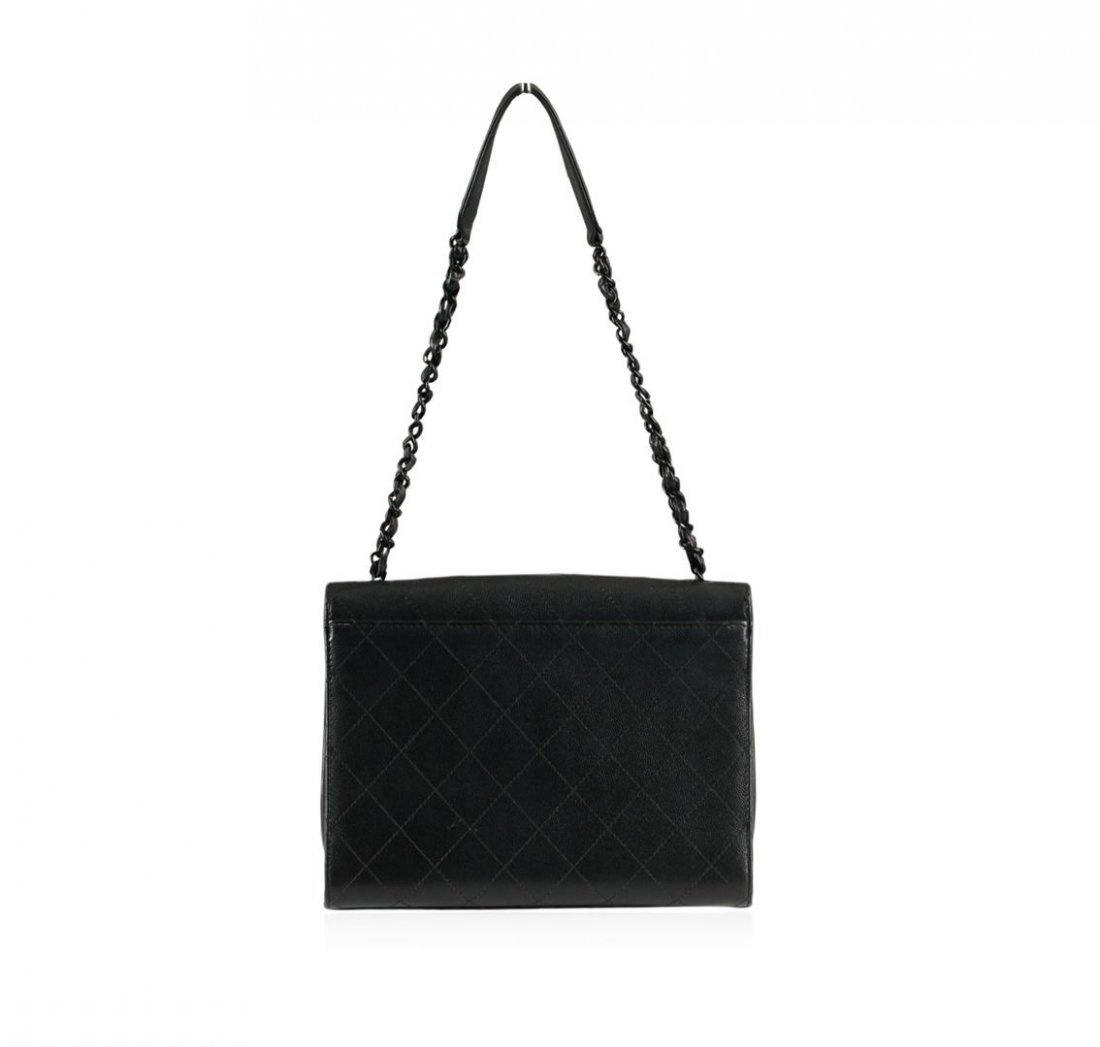 Chanel Black Mini Flap Bag - 4