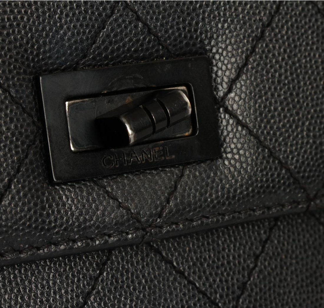 Chanel Black Mini Flap Bag - 7