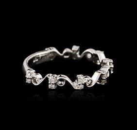 18kt White Gold 0.25ctw Diamond Ring