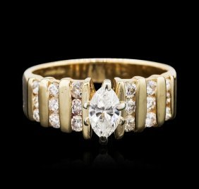 14kt Yellow Gold 1.00ctw Diamond Ring