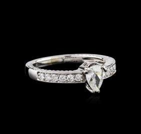 14kt White Gold .74ct Diamond Ring