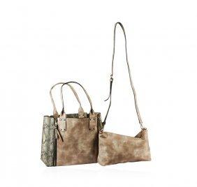 Soft Beige Oversized Handbag