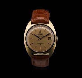 Omega 18kt Rose Gold Constellation Watch