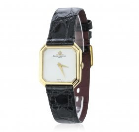 18kt Yellow Gold Baume & Mercier Ladies Watch