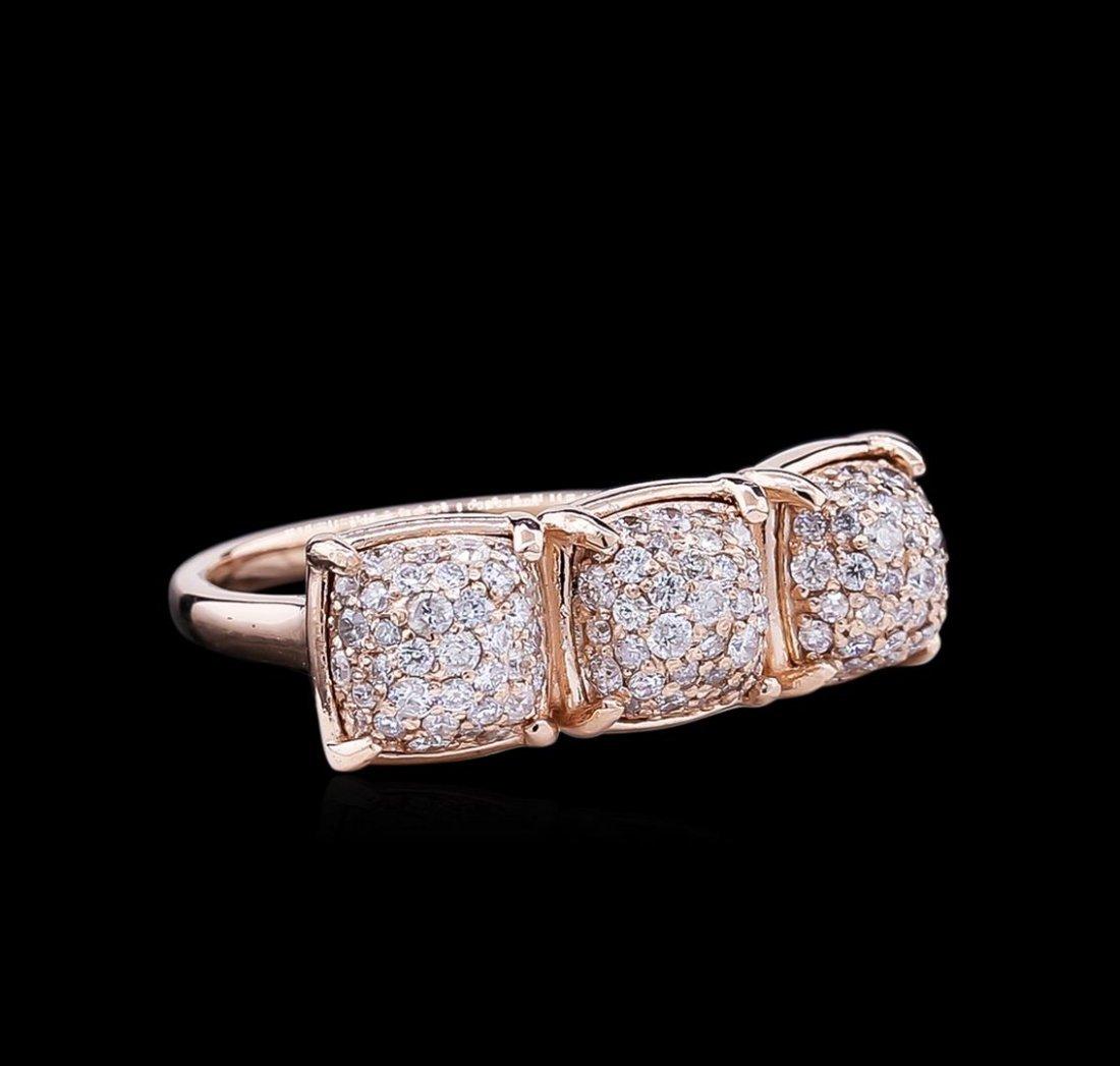 1.04ctw Diamond Ring - 14KT Rose Gold