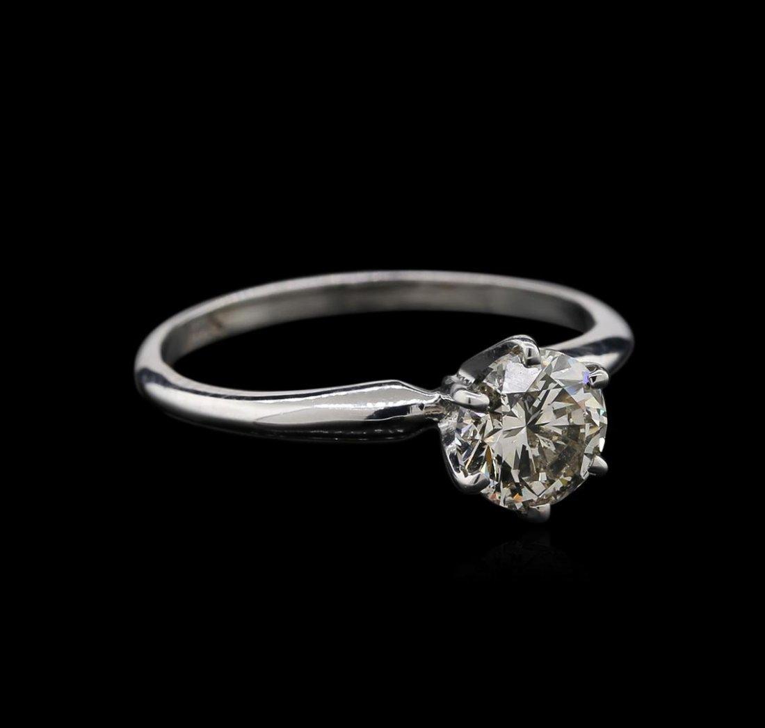 1.04ct Diamond Ring - 14KT White Gold