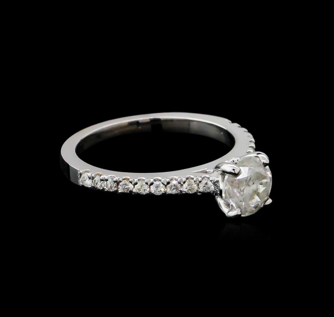 1.28ctw Diamond Ring - 14KT White Gold