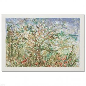 Tree In Spring By Hibel (1917-2014)