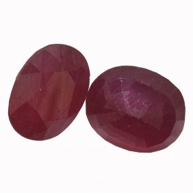 9.84ctw Oval Mixed Ruby Parcel