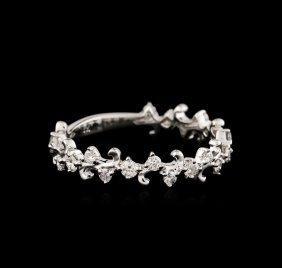 18kt White Gold 0.52ctw Diamond Ring