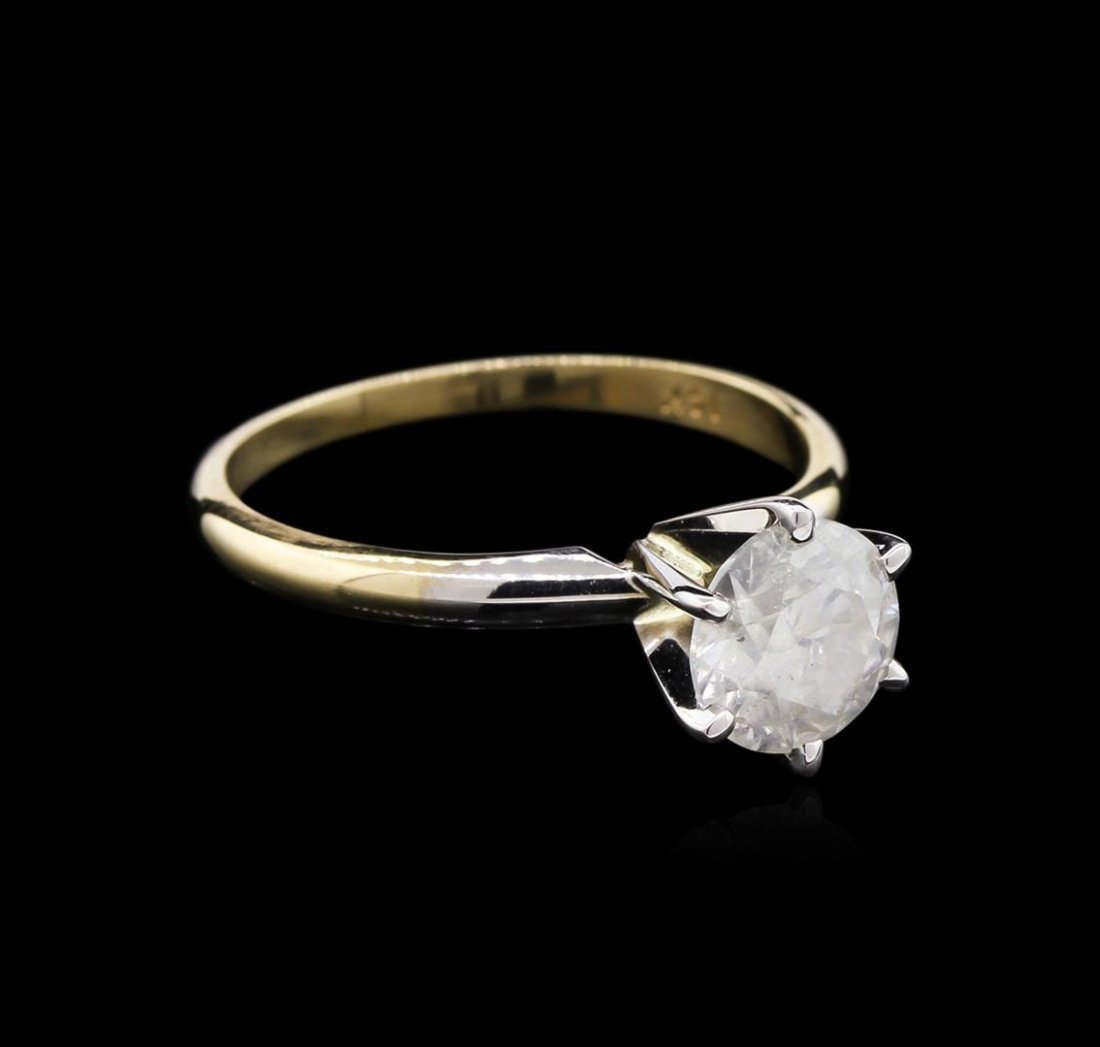 1.40ct Diamond Solitaire Ring - 14KT Yellow Gold