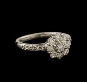 1.00ctw Diamond Ring - Platinum