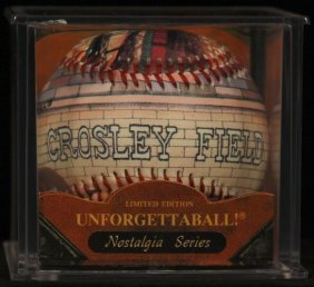 "Unforgettaball! ""crosley Field"" Nostalgia Series"