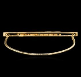 Tiffany & Co. 14kt Yellow Gold Tie Clip
