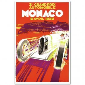 Monaco Grand Prix 1930 By Re Society