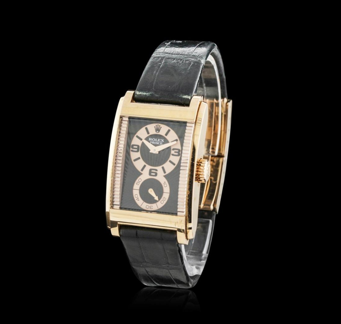 Rolex Cellini Prince 18KT Rose Gold Watch - 2