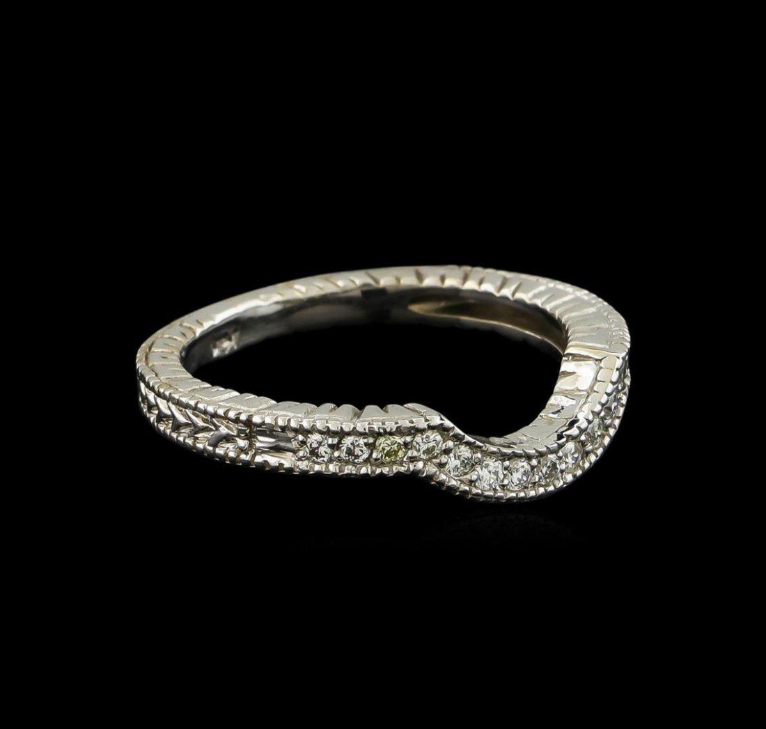 0.15 ctw Diamond Ring - 14KT White Gold