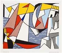 15: Roy Lichtenstein  1973 Silkscreen Poster