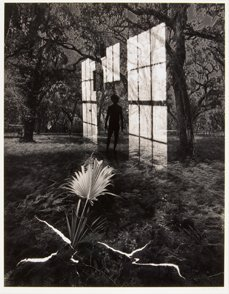 17: Jerry Uelsmann 1978, Black and white photograph