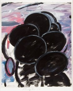 22: John L. Moore  1980, Acrylic and oil on paper