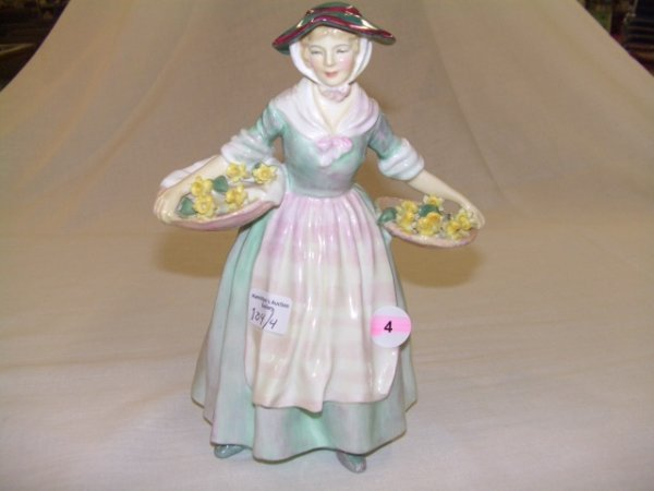 4: Royal Doulton figurine Daffy-Down-Dilly,