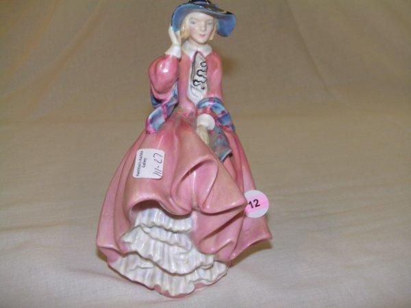 12: Royal Doulton figure Top o' the hill