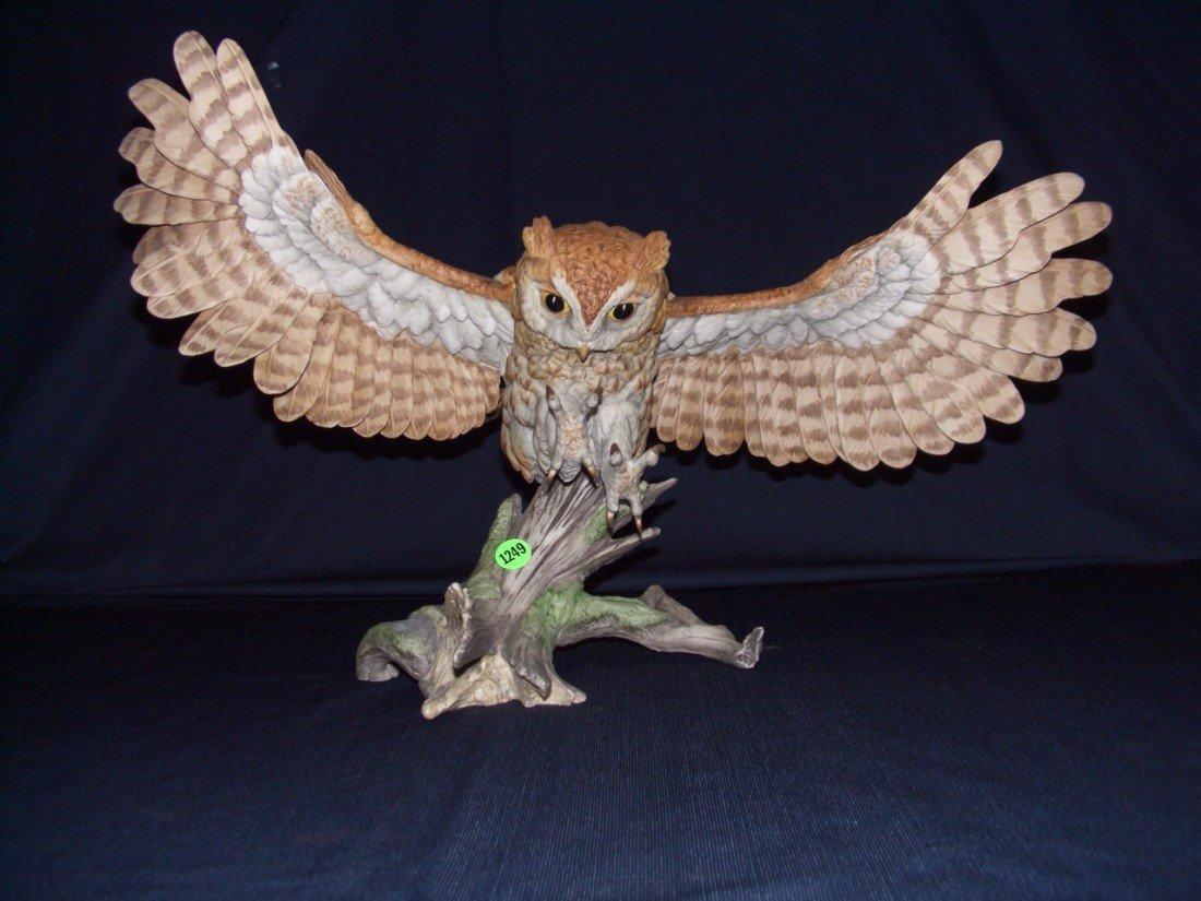"1249: WONDERFUL, BOEHM PORCELAIN BIRD, 1980 LTD.ED. ""SC"