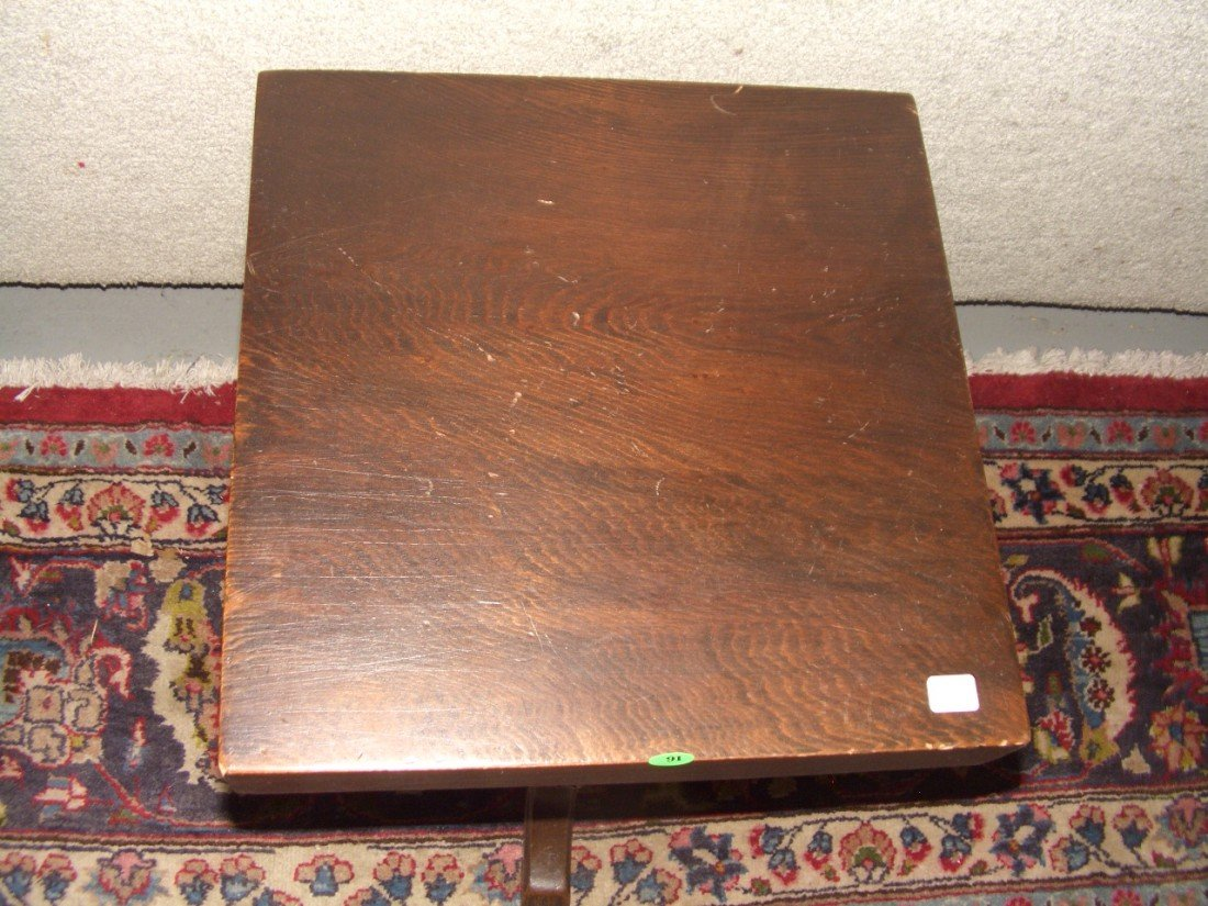 91: carved antique fern stand SSR - 2