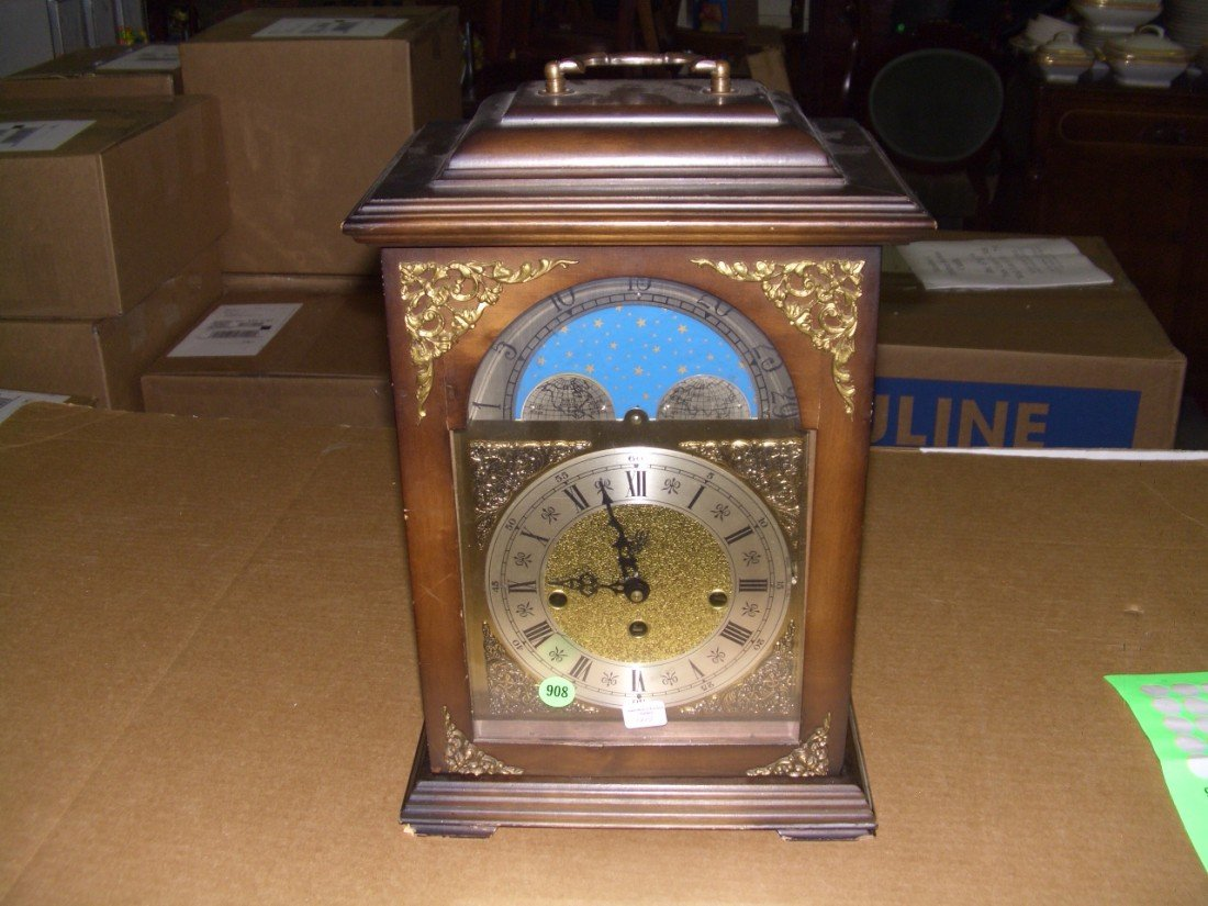 908: German mantle clock